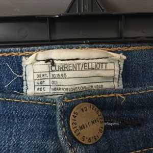 Current/Elliott Pants - Current/Elliot | Girl Crush High Rise Flare Jeans